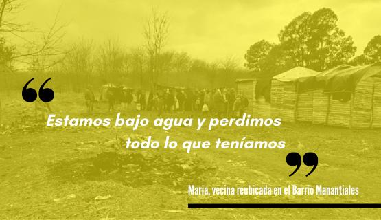 Cobertura especial | Tomas de tierras en Moreno