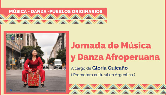 Jornada de música y danza afroperuana