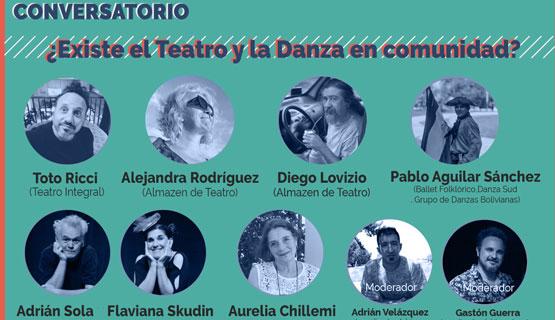 """Conversatorio """"¿Existe el Teatro y la Danza en comunidad?"""""""