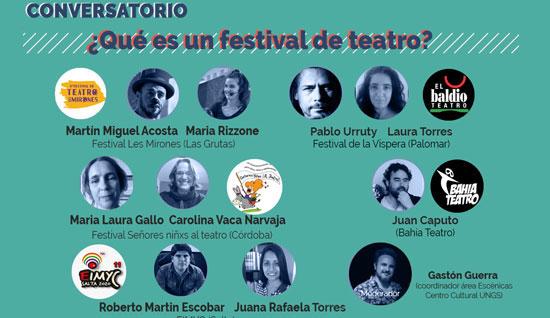 Conversatorio 3: ¿Qué es un festival de teatro?