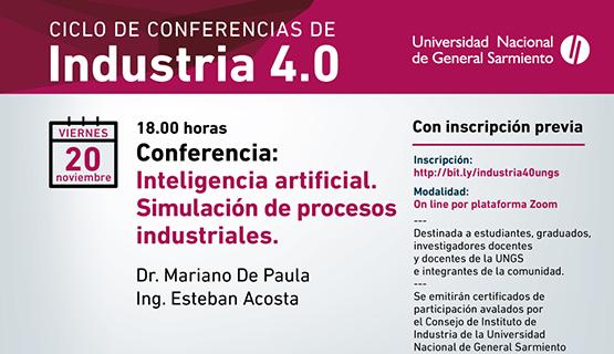 Inteligencia artificial y simulación de procesos industriales, en el ciclo