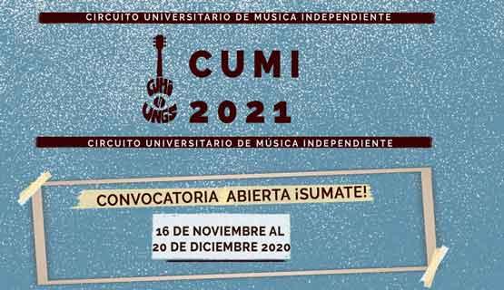 Convocatoria CUMI 2021