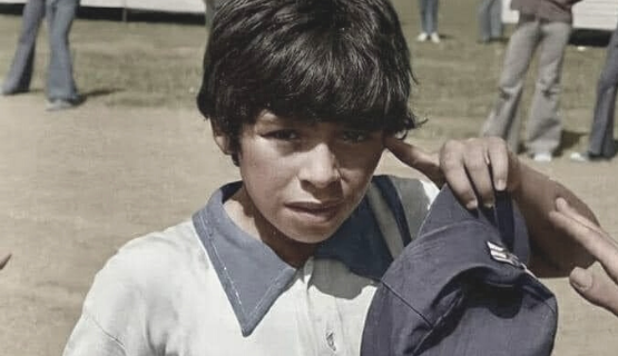Diego no se olvidó jamás de su origen