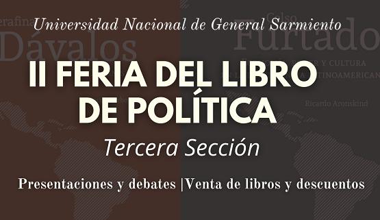 Último del encuentro de la II Feria del Libro de Política