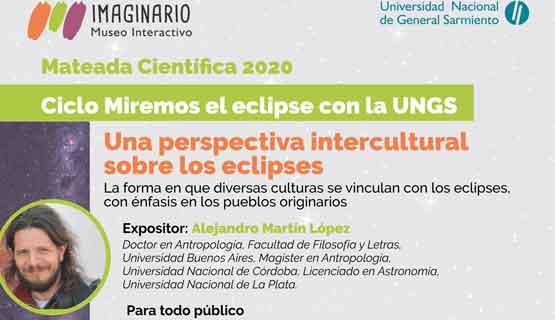 Mateada Científica: Ciclo Miremos el eclipse con la UNGS