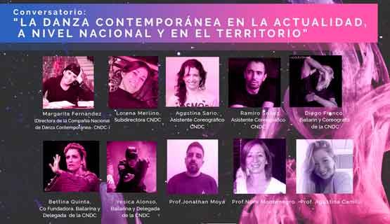 """Conversatorio """"La Danza contemporánea en la actualidad. A nivel nacional y en el territorio""""."""