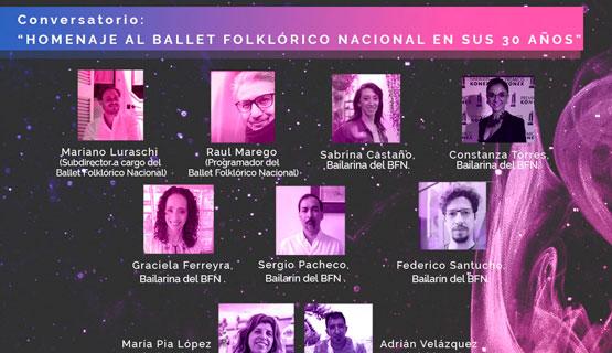 """Conversatorio """"Homenaje al Ballet Folklórico Nacional en sus 30 años"""""""