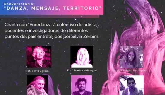 """Conversatorio """"Danza, mensaje, territorio"""""""