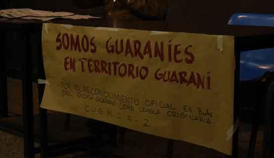 Taller de lengua y cultura guaraní