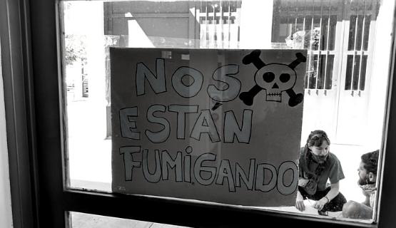 Vecinos y vecinas de General Rodríguez contra los agrotóxicos