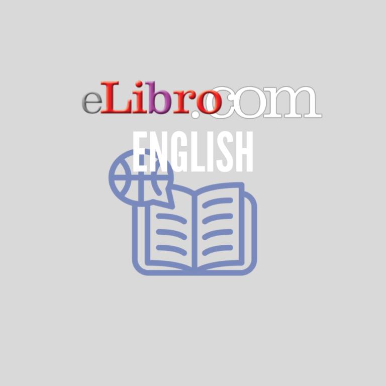 Nuevo acceso a la colección English de la plataforma eLibro