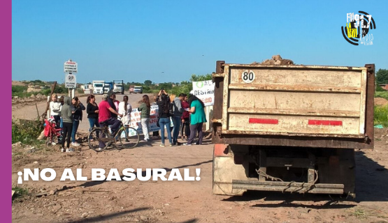Vecinos de Malvinas Argentinas se manifiestan en contra de un basural