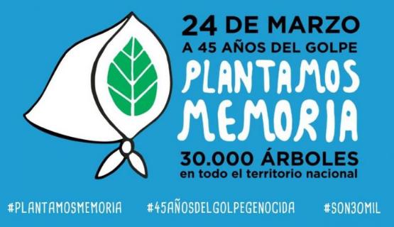 Pilar | Plantan árboles en memoria de desaparecidos de la comunidad lgbtiq+