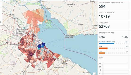 Charla informativa sobre la Especialización en Cartografía Temática Aplicada al Análisis Espacial