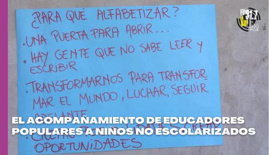 Moreno | Educadores populares brindan alfabetización a más de 1000 niños
