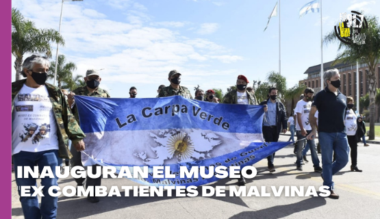 Malvinas Argentinas | Ex Combatientes inauguran un museo en Los Polvorines