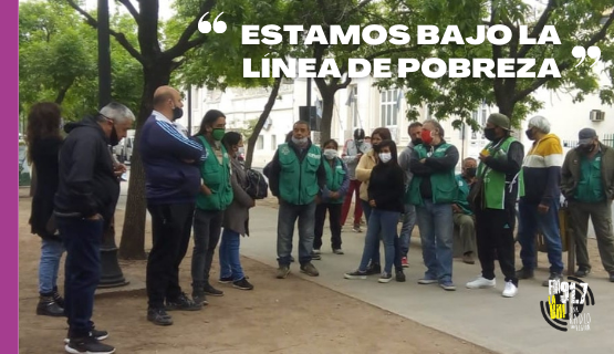 Moreno | Trabajadores municipales exigen un salario acorde a la inflación