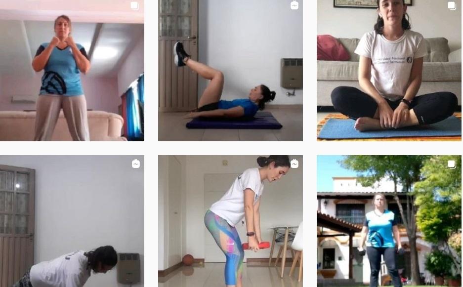 Clases de actividad física en vivo