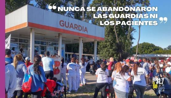 Cobertura Especial | Moreno: trabajadores de la salud sin sueldo desde enero