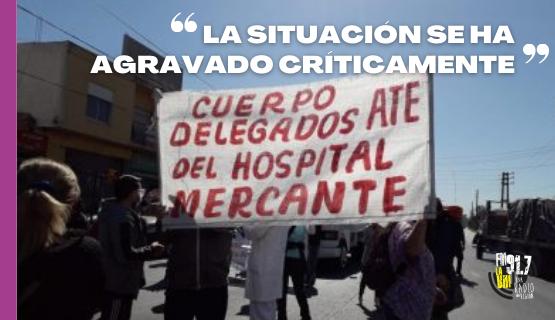 José C. Paz | Hospital Mercante: reclamos y corte