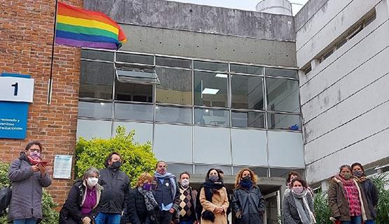 Acto en la UNGS por el Día Internacional del Orgullo LGBTIQ+