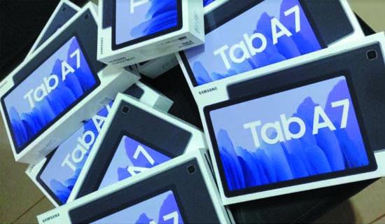 Préstamo domiciliario de tablets para estudiantes