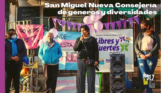 Libres y fuertes: nuevo espacio de género en San Miguel