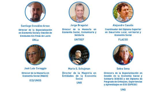 Conversatorio con directores de posgrados de Economía Social