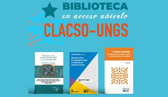 Más de 150 títulos de Ediciones UNGS, en la Librería de CLACSO
