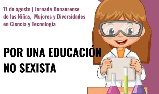 Jornada bonaerense de las niñas, mujeres y diversidades en la ciencia y la tecnología