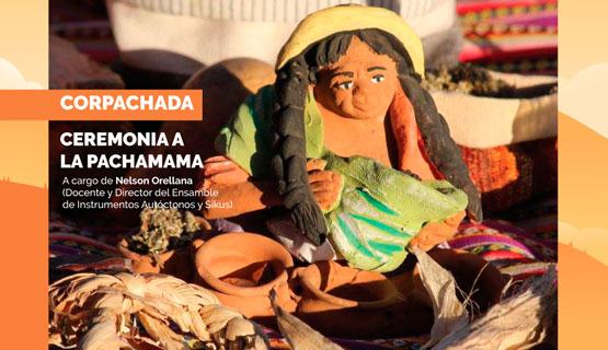 Corpachada, Ceremonia a la Pachamama.