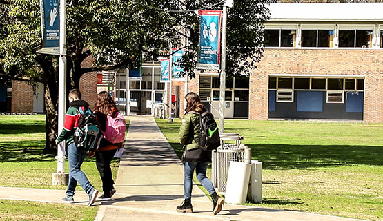 Visitas y recorridos por el Campus para ingresantes