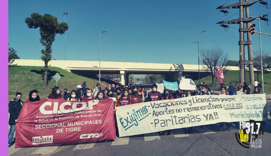 CICOP denuncia precarización laboral en el municipio de Tigre