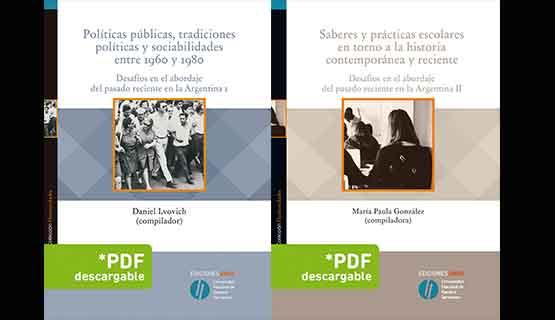 Presentación del libro Desafíos en el abordaje del pasado reciente en la Argentina