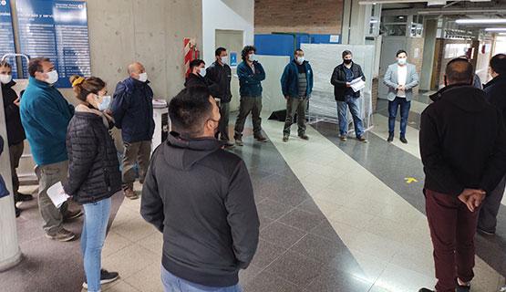 Finalización de la obra y capacitación del personal para la detección de incendios en todo el Campus