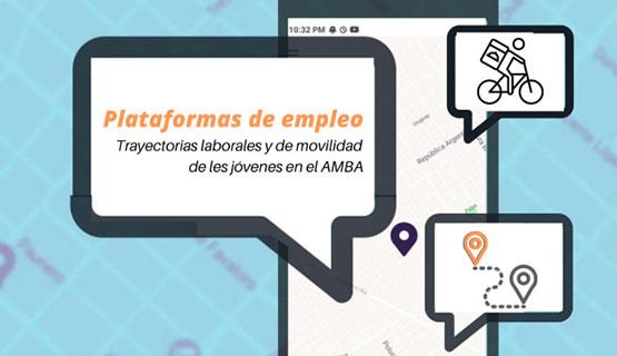 El empleo en plataformas, un refugio para jóvenes del AMBA